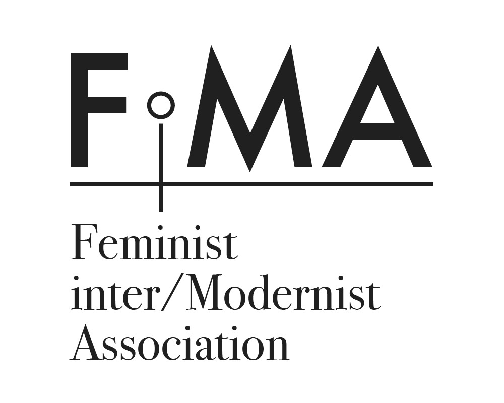Feminist inter/Modernist Association Logo
